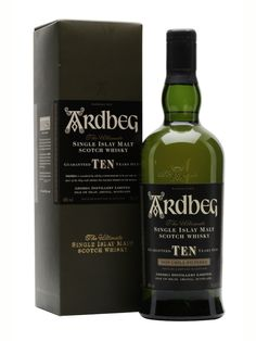 Ardbeg 10 Year Old Scotch Whisky : The Whisky Exchange. For peat-lovers, Ardbeg 10yo is probably the highest-quality 'entry-level' single malt on the market, and the distillery many Islay connoisseurs would choose as their favourite. A whirlwind of peat and complex malty flavours, this is an exuberant, in-your-face whisky to be cherished.