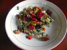 spinach and goat cheese risotto