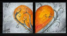 Love <3 , acrylic on canvas.