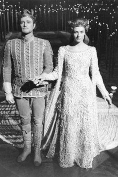 Vanessa Redgrave and Richard Harris in 'Camelot'