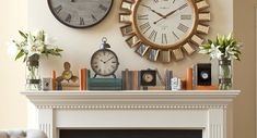 Mantel Makeover - Give your mantel a completely new look with our simple how-to tips and ideas.