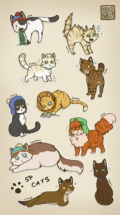 I WANT THEM, wait... then I'd be known as the crazy cat lady... whatever, as long as I have my kitty's, I'm all good