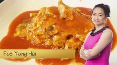 Zelf thuis echte Chinese Foe Yong Hai met kip maken