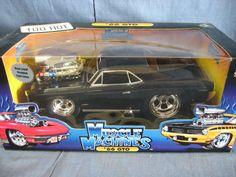 Muscle Machines 1:18 Scale Die-Cast 1966 Pontiac GTO Replica