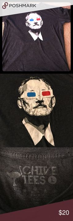 The chive Bill Murray shirt Awesome shirt. Worn a few times. No tears rips or stains size large. This is from the popular website The Chive. Shirts Tees - Short Sleeve