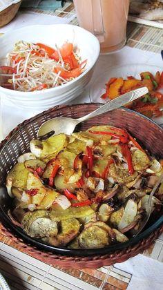 Verduras al horno, para acompañar cualquier carne.