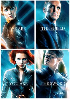 The Avengers ...S.H.I.E.L.D.  http://pinterest.com/yankeelisa/marvel-s-the-avengers/