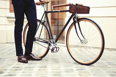 "bikeplanet: ""Bicycle from the collaboration between Victoire Cycles and Berluti www.victoire-cycles.com """