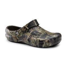 686d77039b9819 Crocs SureGrip Unisex - Adult Bistro Realtree® Camo Slip Resistant Work  Clogs