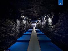Connection to history: Schalke redesigned their home tunnel to represent the club's coal mining heritage