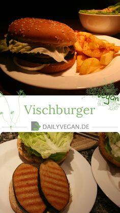Vreitag ist veganer Vischburgertag. 😉  Die Vischburger sind sehr schnell und einfach zubereitet, mit selbsgemachter Remoulade.