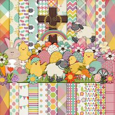 This Easter by HarperFinchDesigns on Etsy, $7.95