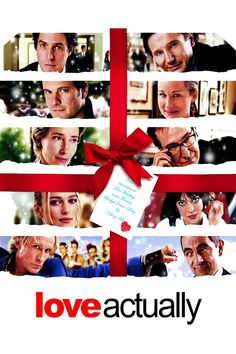 Love Actually - 2003 - Nine intertwined stories examine the complexities of the one emotion that connects us all: love. Among the characters explored are David (Hugh Grant), the handsome newly elected British prime minister who falls for a young junior staffer (Martine McCutcheon), Sarah (Laura Linney), a graphic designer whose devotion to her mentally ill brother complicates her love life, and Harry (Alan Rickman), a married man tempted by his attractive new secretary.