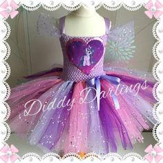Sparkly Twilight Sparkle Tutu Dress. My Little Pony Tutu Dress.Inspired Handmade Dress.All Sizes Fully Customised. Sparkly MLP Tutu Dress.