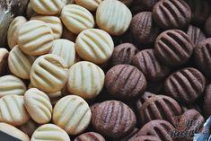 Měkkoučké a jemné vanilkové sušenky ke kafíčku.