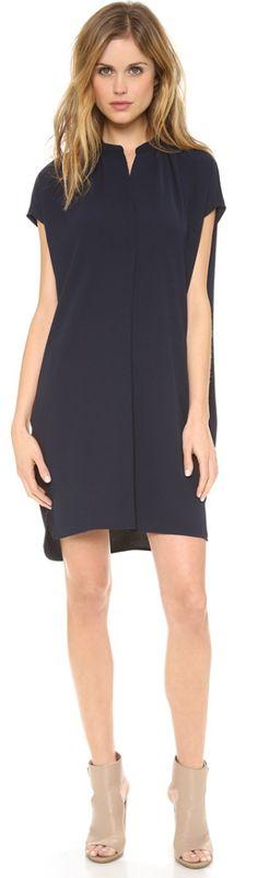 Vince black dress. simple elegance!