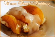 Serve warm with cinnamon peach sauce spooned over top (recipe below). Description from momspantrykitchen.com. I searched for this on bing.com/images