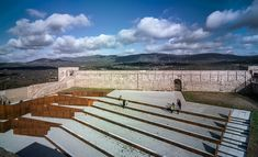 Adaptation of the Inner Ward of El Real de la Jara Castle-03 « Landscape Architecture Works | Landezine