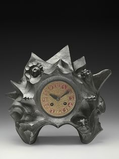 Toon Rädecker, clock, around 1921, manufactured by Winkelman & van der Bijl. Coll. Meentwijck. Photo: Erik & Petra Hesmerg