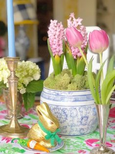 Spring and Easter Tablescape Ideas - The Glam Pad