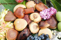 wood jewelry Recycling, Vegetables, Wood, Jewelry, Jewlery, Woodwind Instrument, Jewerly, Timber Wood, Schmuck