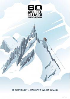 60eme anniversaire du téléphérique de l'Aiguille du Midi