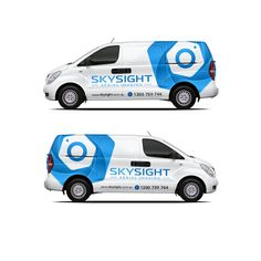 Create a eye-catching vehicle wrap with impact for a leading aerial imaging business! Car, truck or van wrap contest car Vehicle Signage, Van Wrap, Van Design, White Vans, Symbol Logo, Business Design, Partner, Custom Cars, Vehicle Wraps