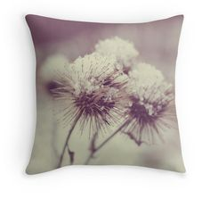 Decorative Pillow Winter Throw Pillow Cover by BotteschPhotography, $35.00 #Snow, #Gift