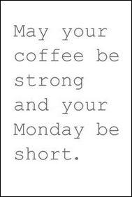 Monday Morning Musings...