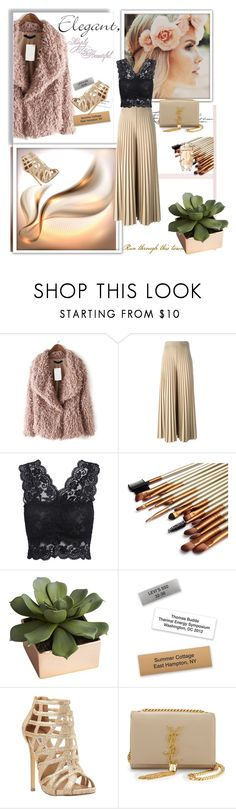 """""""Untitled #45"""" by mana-man ❤ liked on Polyvore featuring Givenchy, CB2, Steve Madden, Yves Saint Laurent, Cartier, women's clothing, women's fashion, women, female and woman"""