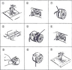 Interesting Choose the Right Sewing Machine Ideas. Cleverly Choose the Right Sewing Machine Ideas. Sewing Machine Basics, Sewing Machine Tension, Sewing Machine Repair, Sewing Machine Parts, Sewing Machine Reviews, Vintage Sewing Notions, Vintage Sewing Machines, Vintage Sewing Patterns, Sewing Spaces