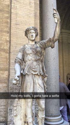 25 Art History Snapchats That Will Make You Giggle