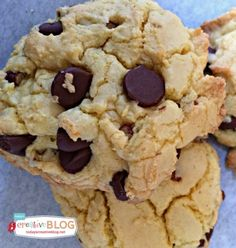 Cake Mix Chocolate Chip Cookie Recipe   TodaysCreativeBlog.net