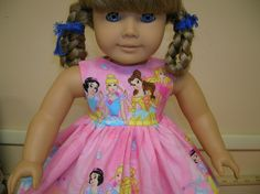 Read Disney Princess Doll Dress For American Girl Doll Online Free ...