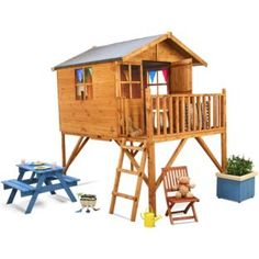 Buy BillyOh Lodge Tower Playhouse at Argos.co.uk - Your Online Shop for Playhouses.