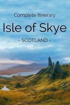 The most complete Isle of Skye itinerary - Skye, Scotland Scotland Vacation, Scotland Road Trip, Scotland Travel, Ireland Travel, Scotland Nature, Scotland Hiking, Inverness Scotland, Places To Travel, Travel Destinations