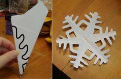 Copos de nieve de papel     Unos bonitos copos de nieve pueden se... Ana Frozen, Frozen Princess, Frozen Theme, Frozen Party, Christmas Door, Christmas Crafts, Elsa, Xmas 2015, 13th Birthday Parties