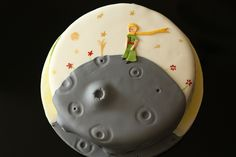 the little prince birthday cake
