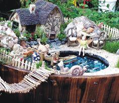 really cute fairy house