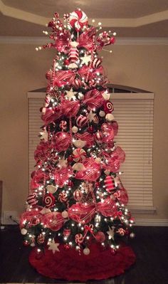 Candy Cane Christmas Tree Decorations 46 Famous Candy Christmas Tree Decorations Ideas  Christmas Tree