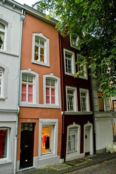 Pictures of Germany - Aachen - old town houses --> See more at http://www.EverythingAboutGermany.com