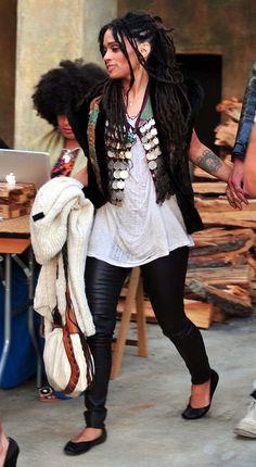 Lisa Bonet Vest