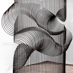 Momentum Sculpture by Matt McConnell Interactive Installation, Artistic Installation, Parametric Architecture, Architecture Design, Sound Art, Illustrations, Sculpture Art, Glass Art, Studios