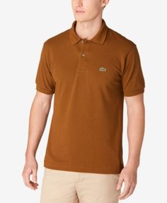 Lacoste Classic Pique Polo Shirt, L.12.12 - Red 2XL
