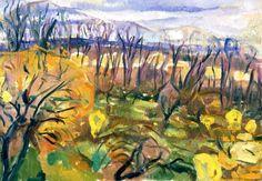 "bofransson: ""Autumn Colors Edvard Munch - 1916-1920 """