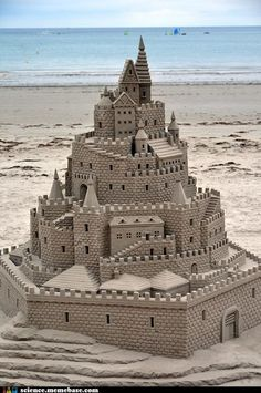 If you're going to build a sandcastle ...