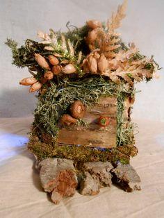 Faerie House Cedar Branch Butter Box by Faeriearthart on Etsy
