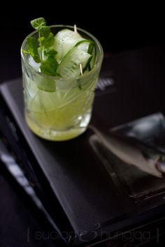 Herushinki by Gaijin - a cucumber lime cocktail named after the Japanese name of Helsinki