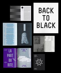 """thisiscatalogue: """" Great work from Dijon based design duo Atelier Tout va bien. Page Design, Ui Design, Book Design, Layout Design, Presentation Design, Presentation Templates, Graphic Design Books, Small Book, Business Proposal"""
