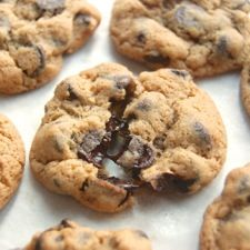 Soft Chocolate Chip Cookies – a touch of honey keeps these soft.